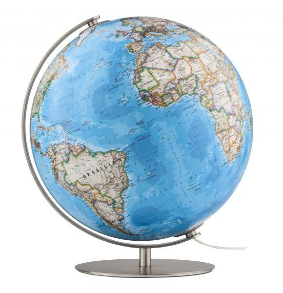 National Geographic Fusion 3703 Classic 37cm Handkaschiert Globus Tischglobus Leuchtglobus Globe