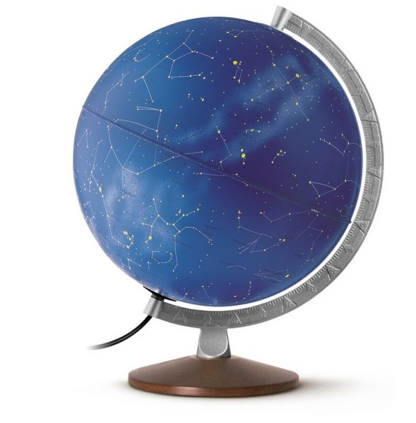 Sternbild-Leuchtglobus HL 30 10 Globus Sternenhimmel Sterne Gestirne Sternzeichen Himmelszelt Globe