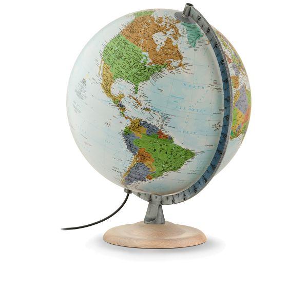 National Geographic Silver Explorer Leuchtglobus Globus politisch 9783946606215 kaufen bestellen