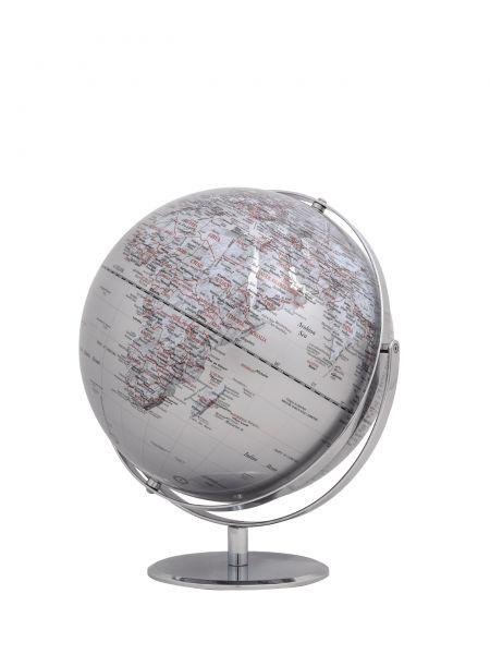 Globus JURI silver Designglobus 30cm Durchmesser Emform SE-0772 silber silver Globe World Earth