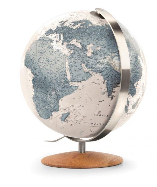 Handkaschierter Design-Leuchtglobus ZFG 3702 Globus 37cm Tischglobus Globe Erth World Büro