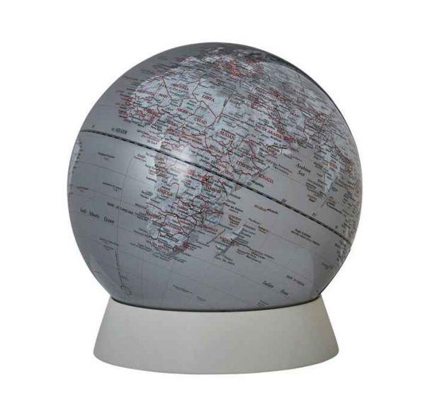 SE-0963 silver Planet globe silberner globus kaufen