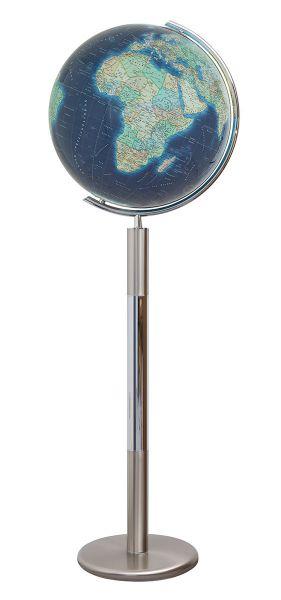 244089 Standglobus Columbus Azzurro - Ø 40 cm Leuchtglobus Globus Büro Globe World Earth