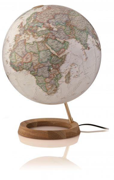 National Geographic Neon Executive Globus Antikstil Leuchtglobus 30cm Durchmesser, Kartografie polit