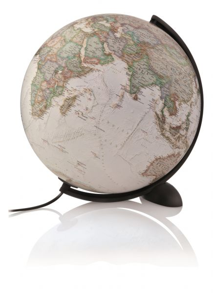 Leuchtglobus NG 30cm Globus Atmosphere Ellipse Globus politisch im antikstil modern