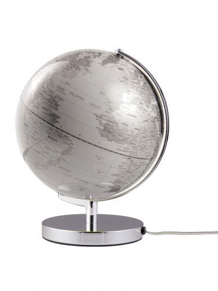 Globus beleuchtet TERRA WHITE LIGHT 25cm Durchmesser Designglobus Emform SE-0713