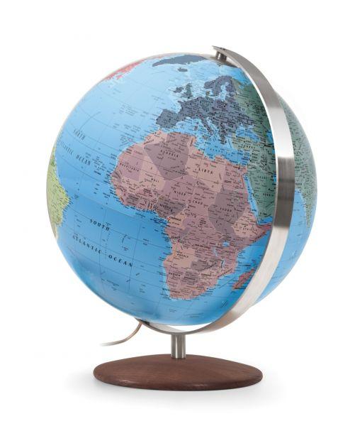 Handkaschierter Leuchtglobus CTN 3701 Globus 37cm Tischglobus Globe Erth World Büro