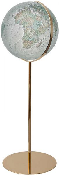 234076 Messing goldener Globus Standglobus Alba Columbus