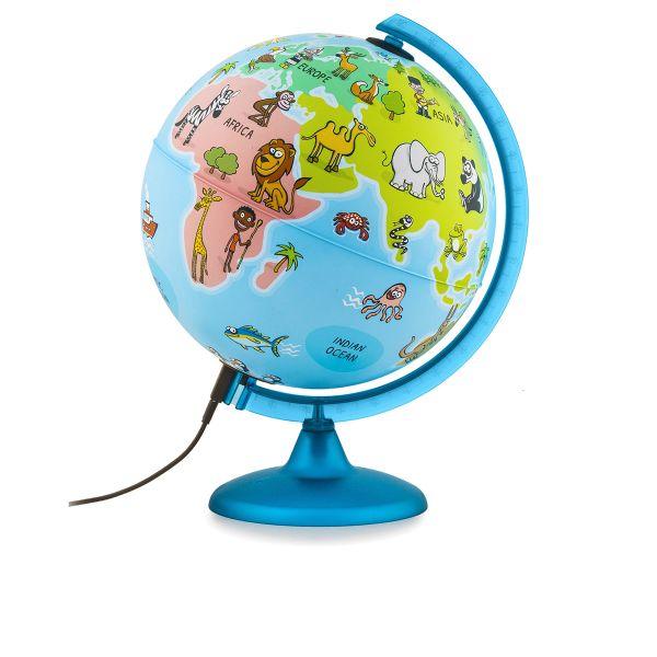 Kinderglobus Tierglobus MM2562 Leuchtglobus Kontinente Globe Kids