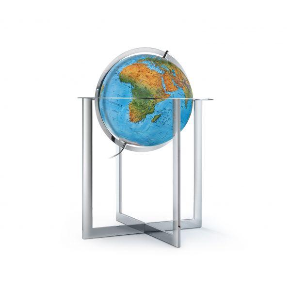Handkaschierter Stand-Leuchtglobus DFN 50 80 Globus Großglobus Globe World