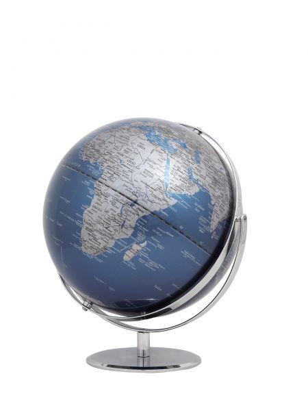 Globus JURI blue Designglobus 30cm Durchmesser Emform SE-0769 blau blue Globe Earth World