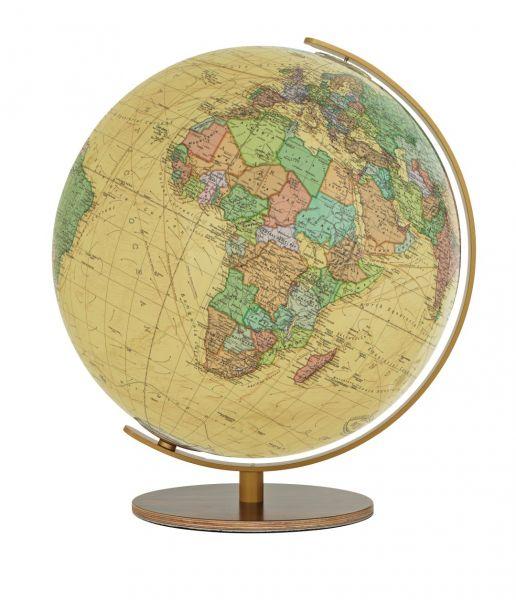 Columbus 223451 Royal Leuchtglobus Durchmesser 34 cm Globus nußbaumfarben Antik Weltkugel Erde