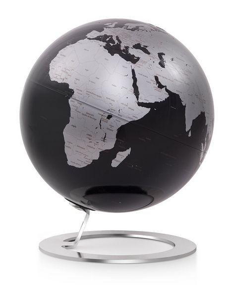 25cm Design-Globus Atmosphere iGlobe Black Edition Globus Globe Modern schwarz