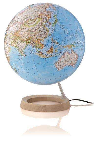 National Geographic Globus Neon Classic Leuchtglobus 30cm Durchmesser, Kartografie politisch Erde