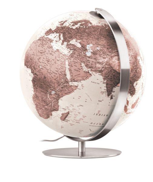 Räthgloben Handkaschierter Design-Leuchtglobus ZFB 3703 Globus 37cm Tischglobus Globe Erth World