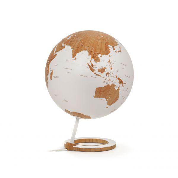 Atmosphere 25cm Design-Leuchtglobus Globus Bamboo Designglobus Globe Erth