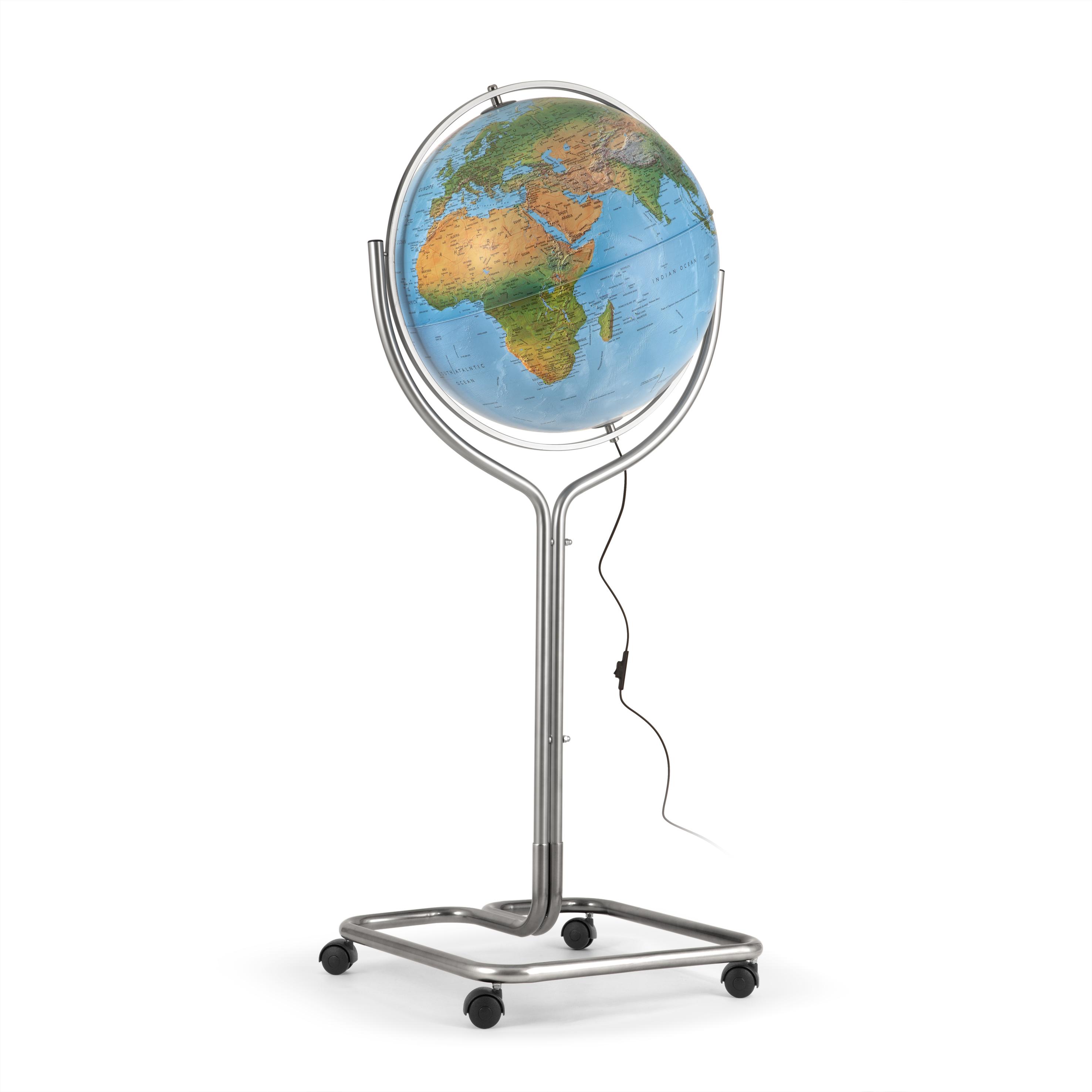 globus zeichnen einfach  globus