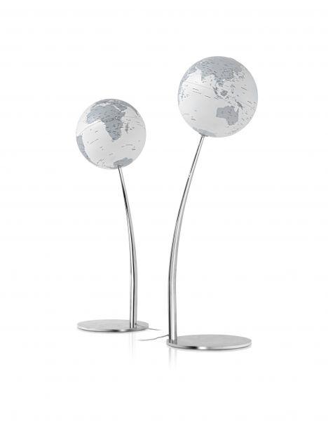Designglobus Standglobus Leuchtglobus Atmosphere Globus Stem Reflection Globe