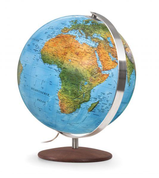 Handkaschierter Doppelbild-Leuchtglobus DFN 3001 Globus 30cm Tischglobus Globe Erth World Büro