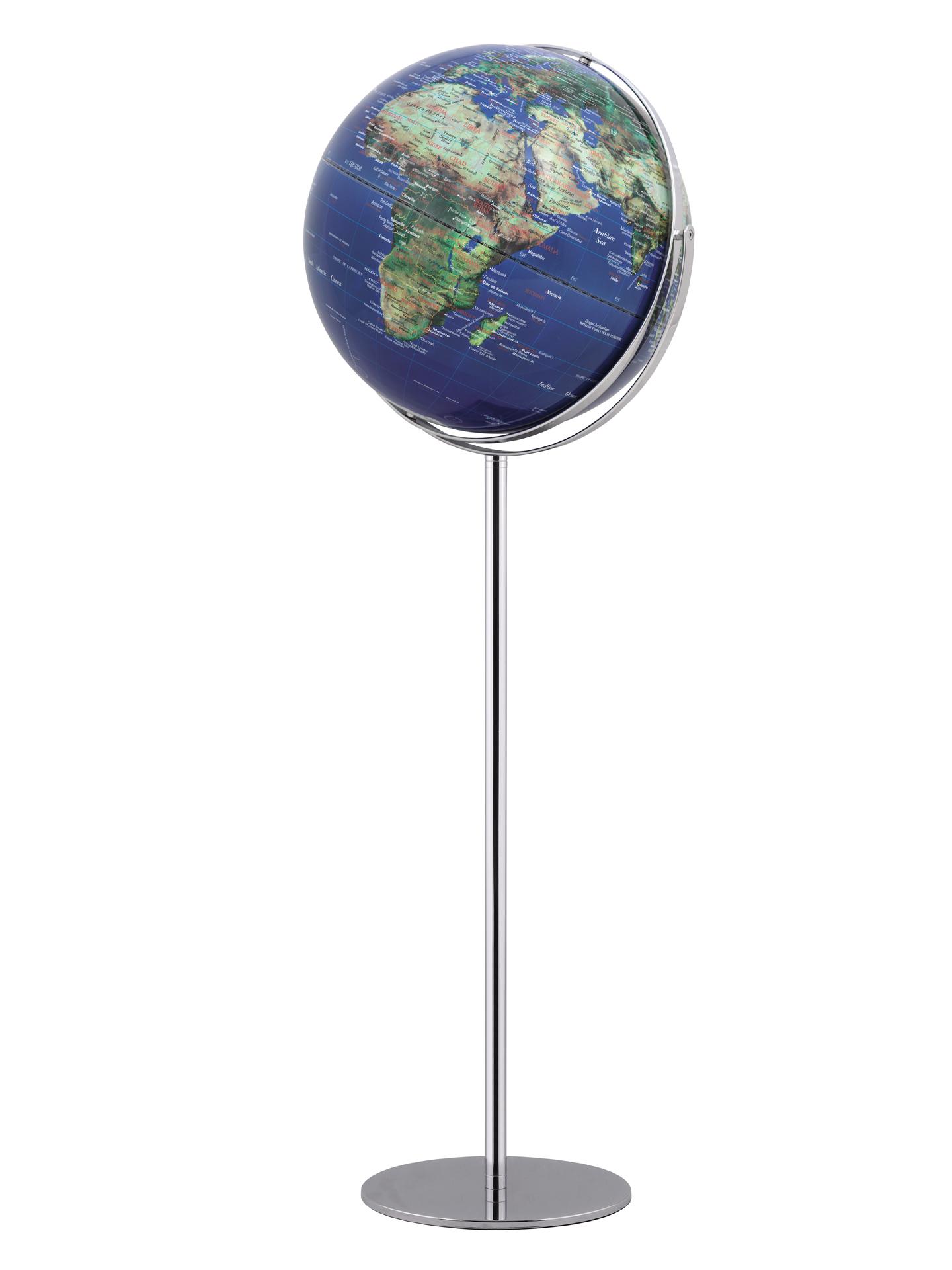 globus standglobus apollo 17 physisch no 2 relief designglobus 42cm durchmesser emform se 0779. Black Bedroom Furniture Sets. Home Design Ideas
