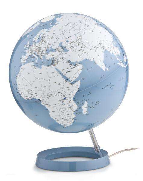 Design-Leuchtglobus Atmosphere Light & Colour AZURE Chrome 30cm Globus modern Globe