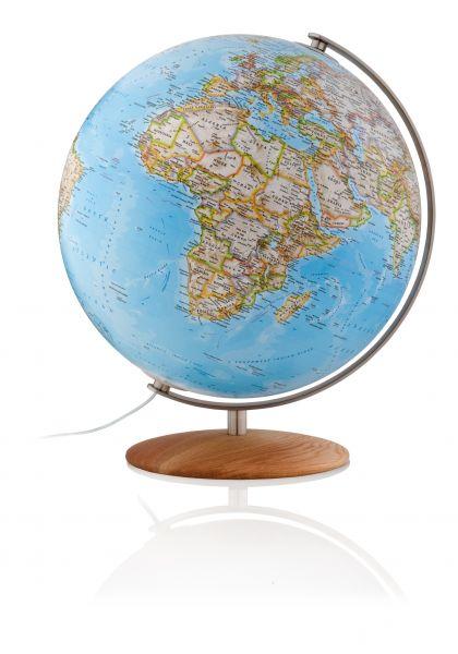 National Geographic Fusion 3702 Classic Globus Leuchtglobus handkaschiert 37cm Durchmesser Erde