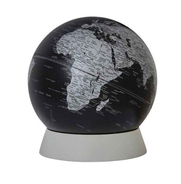 SE-0966 schwarzer Globus Emform Ring Globuskugel Designglobus