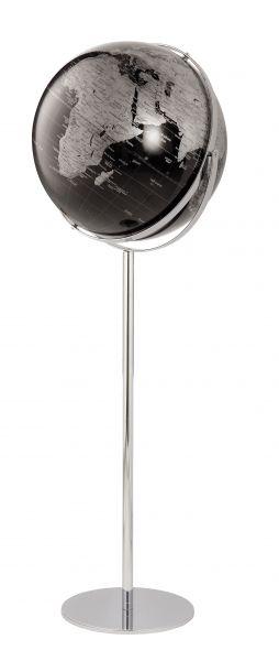 Globus Standglobus APOLLO 17 BLACK Relief Designglobus 42cm Durchmesser Emform SE-0620