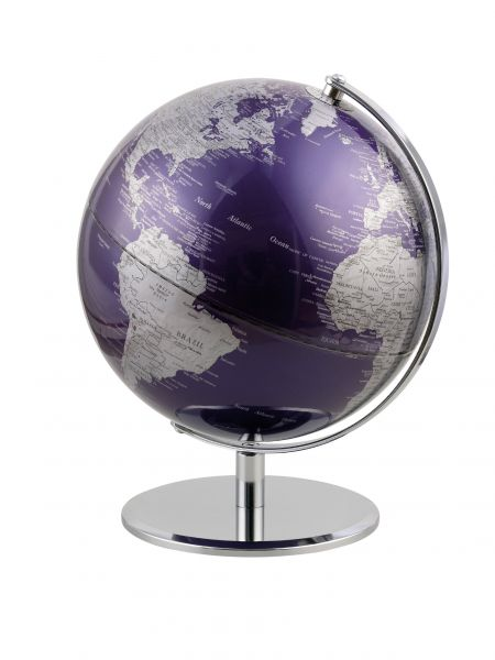 Globus PURPLEPLANET purple Planet 25cm Durchmesser Designglobus Emform SE-0669