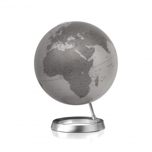 30cm Design-Globus Atmosphere Vision Silver Globe Erth World Tischglobus Büro