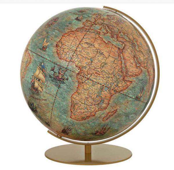 254071 Columbus Imperial Globus24 Antik Leuchtglobus Globe