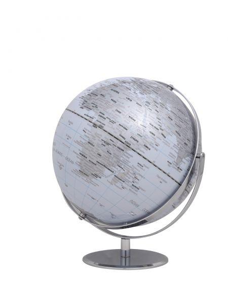 Globus JURI white Designglobus 30cm Durchmesser Emform SE-0771 weiss white Globe Earth World
