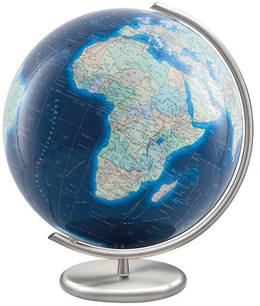 Azzurro Columbus Globus 244083 Glaskugel Leuchtglobus