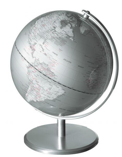 Globus SILVERPLANET Silver Planet Designglobus 24cm Durchmesser Emform SE-0029