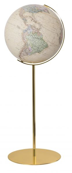 224076 goldener Standglobus royal Leuchtglobus wertig